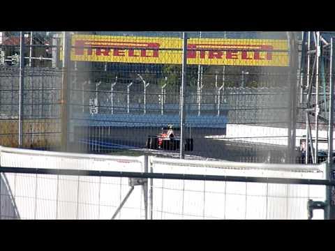 Тренировочные заезды Формула 1в Сочи. Билеты на Формулу-1 достались не всем.