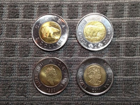 Canadian Toonie | Two Dollar Coins