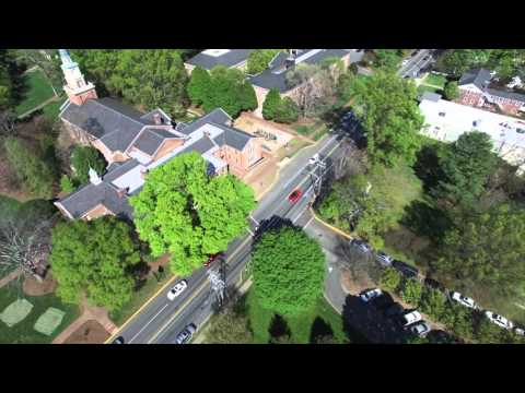 Davidson College From the sky