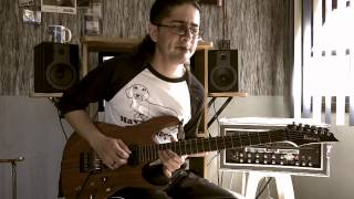 Joe Satriani - Time/Dream Song - Guitar performance by Cesar Huesca
