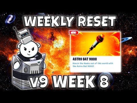 Weekly Shop Reset: Astro Bat 9000  Fortnite Save The World