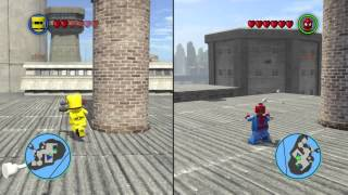 LEGO® MARVEL Super Heroes:prison escape [2 players gameplay]