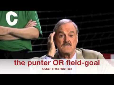 Football versus Soccer John Cleese