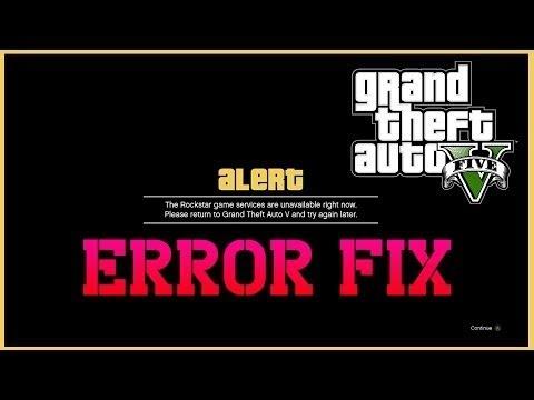 GTA 5 Online - Server Issues//Sync Files Fix😭🐴😁