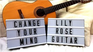 Change Your Mind - (Eli) - (Cover) - Lily Rose