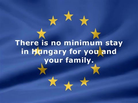 Permanent residence through investment in Hungary