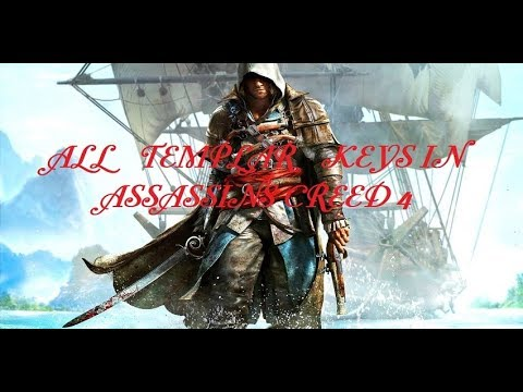 AC4 - all templar key locations