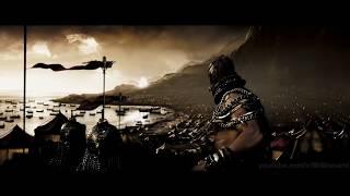 300 Спартанцев - Спартанцы против Носорога и Слонов!