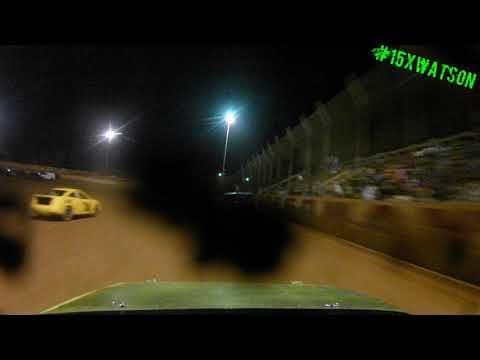 Harris Speedway FWD 4 Main 8-19-17 Nick Watson 15x Winner Winner Chicken Dinner!