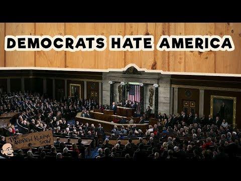 At SOTU, Dems Hate Jobs, the Flag, Veterans and America   The Andrew Klavan Show Ep. 454