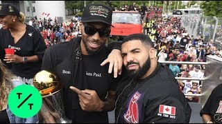 Raptors Fans Flood Downtown Toronto for NBA Championship Victory Parade