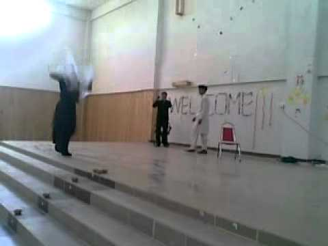 hazara university biochemistry( girl dance with pashto song).mp4