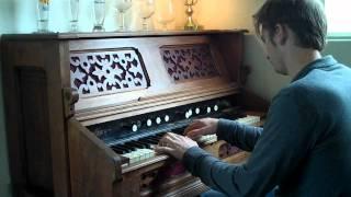 Sunshine - Sparklehorse pump organ cover