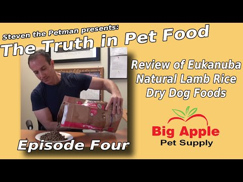 review-of-eukanuba-natural-lamb-rice-dry-dog-foods---ep.-4-of-steven-the-pet-man:-truth-in-pet-food