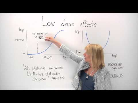 Low-dose effects in chemical risk assessment