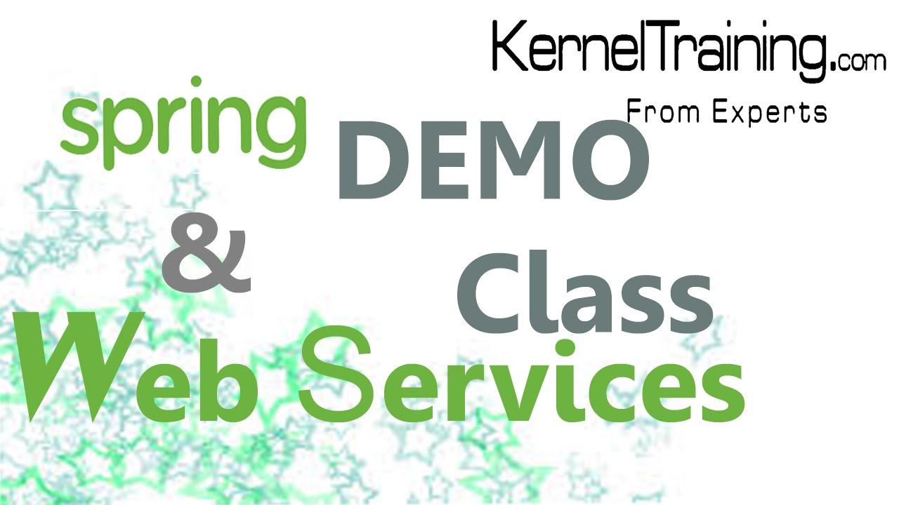 Spring java framework tutorial java web services tutorial youtube spring java framework tutorial java web services tutorial baditri Images