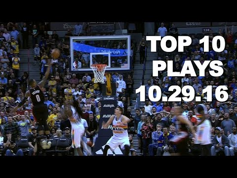Veja o video – Top 10 NBA Plays: October 29th