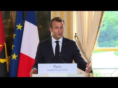 """Enfant sauvé: le """"héros"""" malien naturalisé français (Macron)"""