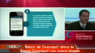 Banco de Guayaquil ahora es Banco Guayaquil con nueva imagen