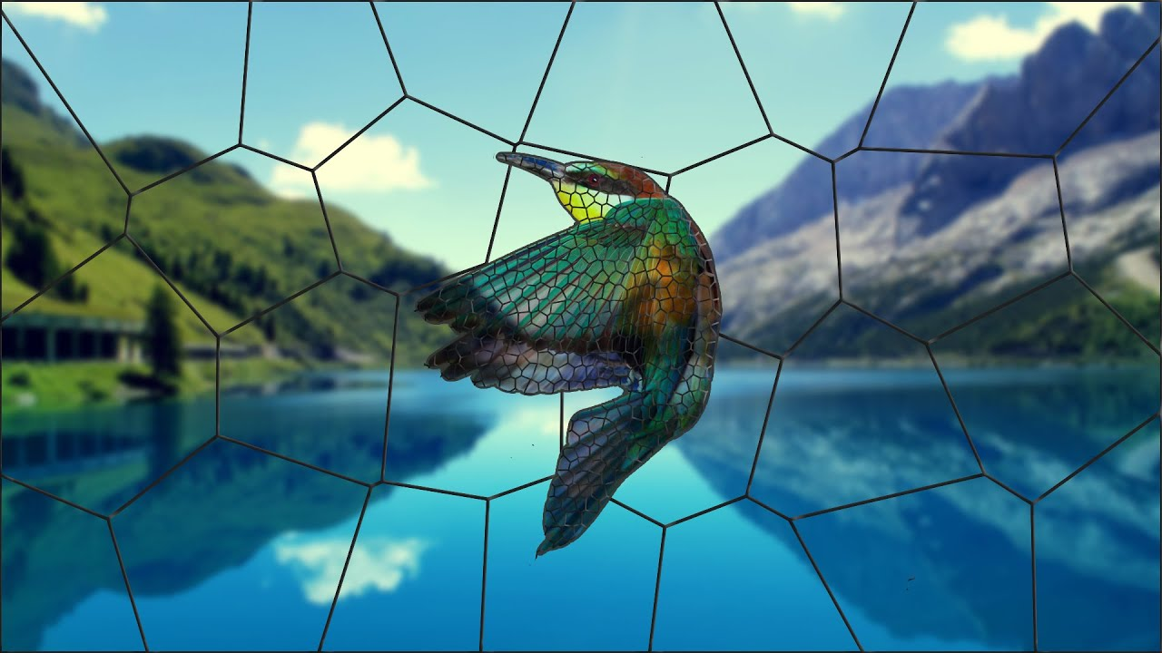 Create Beautiful Custom Stained Glass Photoshop Cc