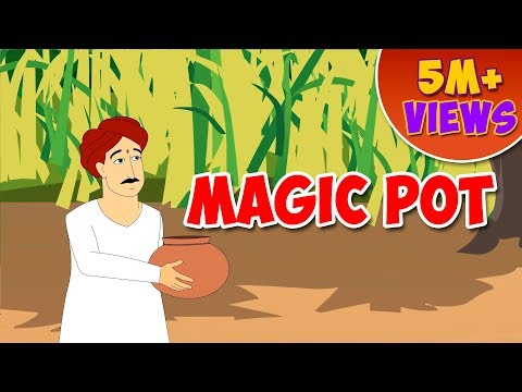 Magic Pot - English Moral Story for Kids