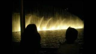 Dancing Fountain-Dubai-Hindi Song