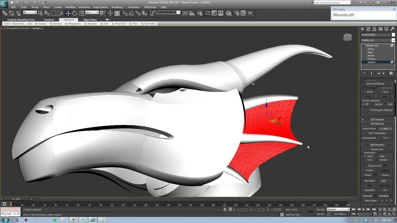 Import/Export Creo/CAD IGES file to 3DS Max Flip Normal Correctly