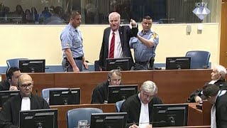 Ratko Mladić, the