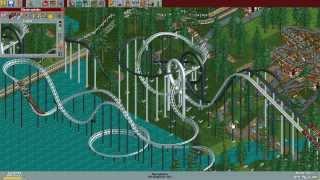 RollerCoaster Tycoon Deluxe - Diamond Heights [HD] (Hasbro Interactive) (1999/2002)