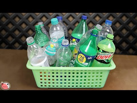 10 Plastic Bottle… DIY Room Decor Idea 2019 || DIY Projects !!!