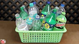 10 Plastic Bottle... DIY Room Decor Idea 2019 || DIY Projects !!!