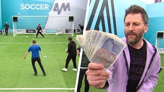Can the Brighton fans hit TOP BIN and win £500?! | Soccer AM Volley Challenge