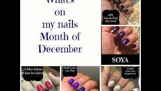 December Monthly Manis