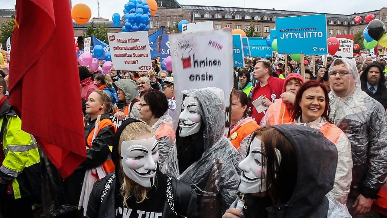 Helsinki Mielenosoitus