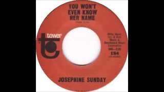 Josephine Sunday - You Won