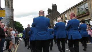 City of Chester Whit Friday 2017 Uppermill (Saddleworth) Walking Up