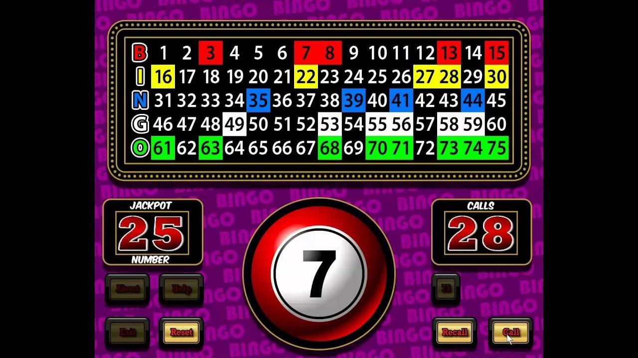 Bingo Computer Games
