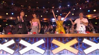 ALL AMAZING GOLDEN BUZZER Auditions On Britain's Got Talent 2019!