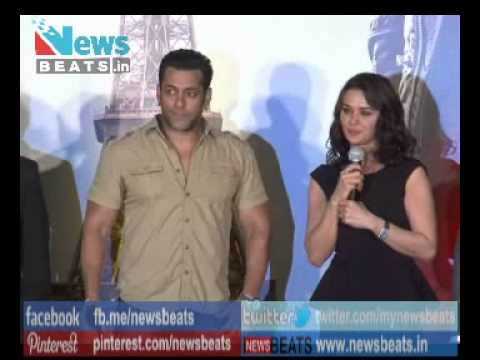 Salman Khan at Preity Zinta movie Ishkq in Paris Music Launch