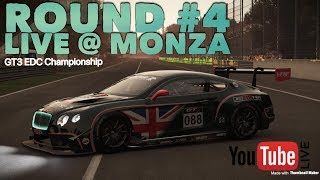 Project CARS 2 Live @ Monza EDC Race 4 PS4 Gameplay Broadcast