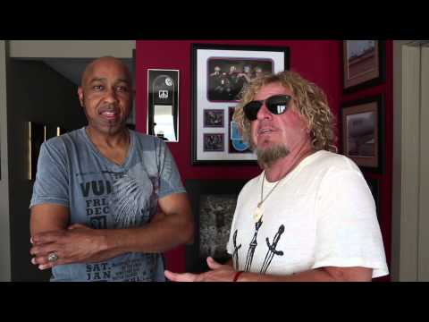 Sammy Hagar w/ Vic Johnson - May Greeting to Redheads (New Acoustic Album & History of Rock Tour)