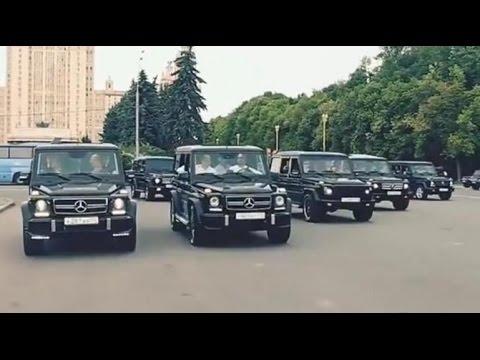 Abschluss-Party in Moskau: So protzen Russlands Nachwuchs-Spione vom FSB