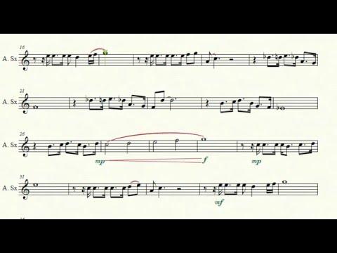 Les Misérables- I Dreamed A Dream [Alto  Sax Arrangement]
