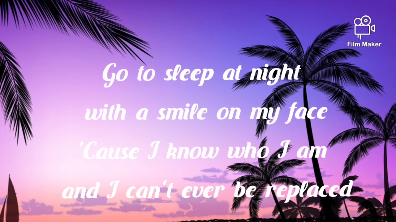 Girl in the mirror lyrics by Sofia Grace and Silento