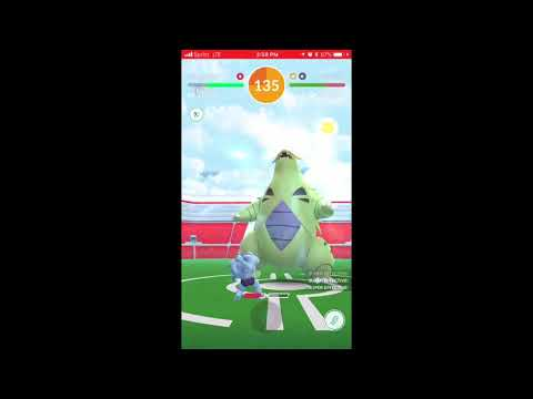 Fastest Duo Tyranitar 52 Seconds Left Cloudy