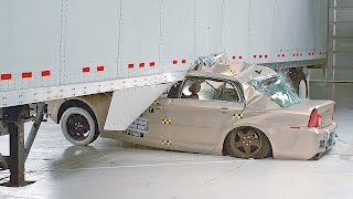 Cars vs. SemiTrailers – Side Underride Crashes