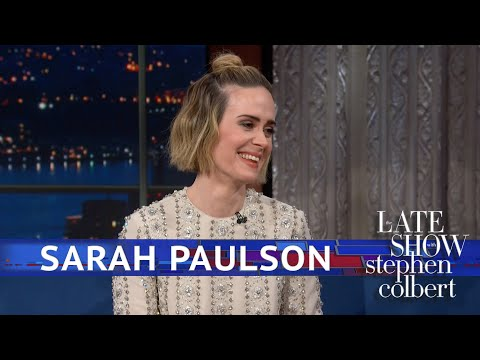 Sarah Paulson Hasn't Seen 'Bird Box' Yet