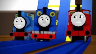 [MMD Cup finals 14th]Thomas in the X Games[Thomas And Friends]