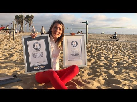 How to set a Guinness World Record in slacklining