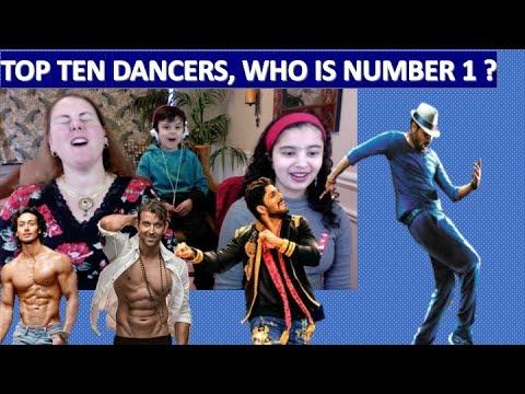 Top 10 Indian Dancers (Actors Edition) / AMERICANS REACTION
